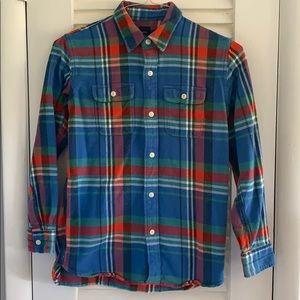 Gap Kids Flannel Button Down XXL 14-16